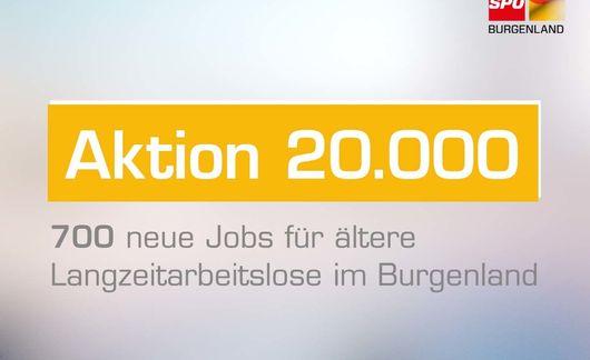 Aktion 20000 700 Jobs Für ältere Langzeitarbeitslose Im Burgenland